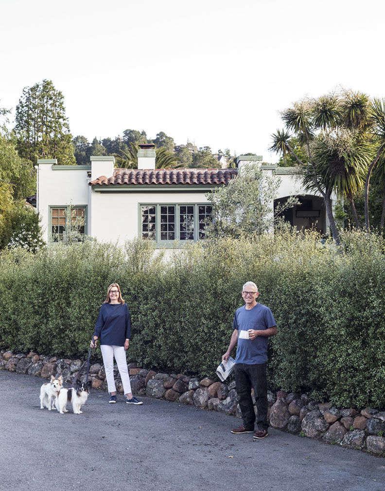 Michelle Slatalla and Josh Quittnerat home in Mill Valley. Photo by Matthew Williams.