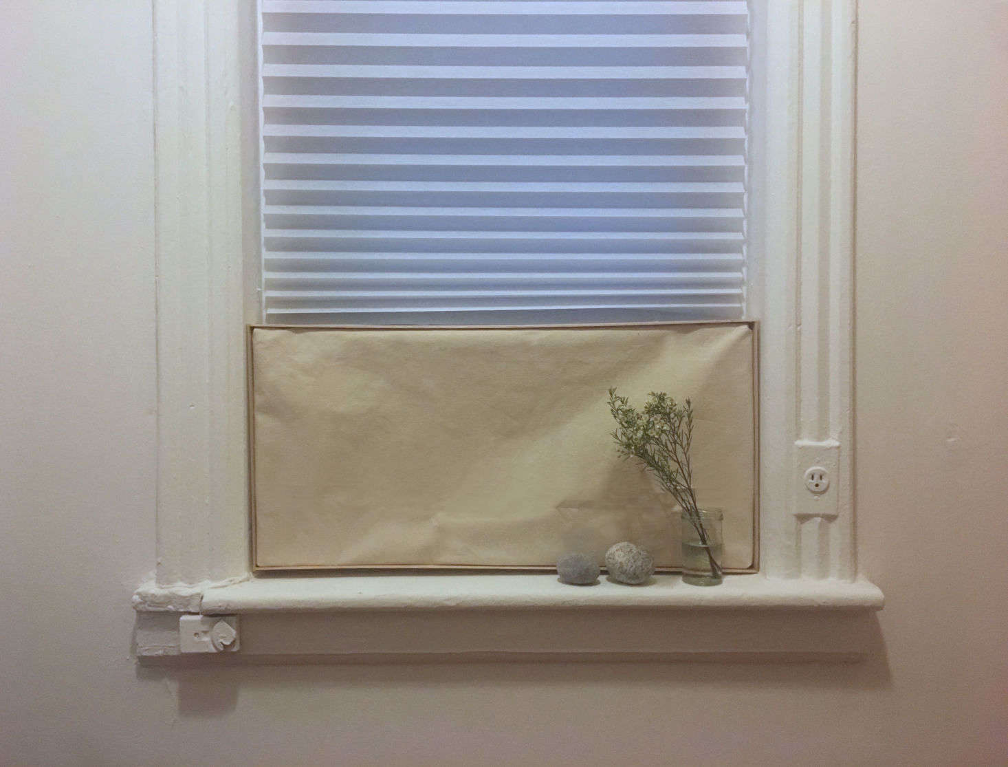 If you have a window air conditioner unit, chances are, you don't exactly love the way it looks. Once this heat wave is over, consider concealing it with this easy DIY Cover. Annie shows you how: DIY: A Simple, Easy Cover for an Ugly Window Air Conditioner (for $15).