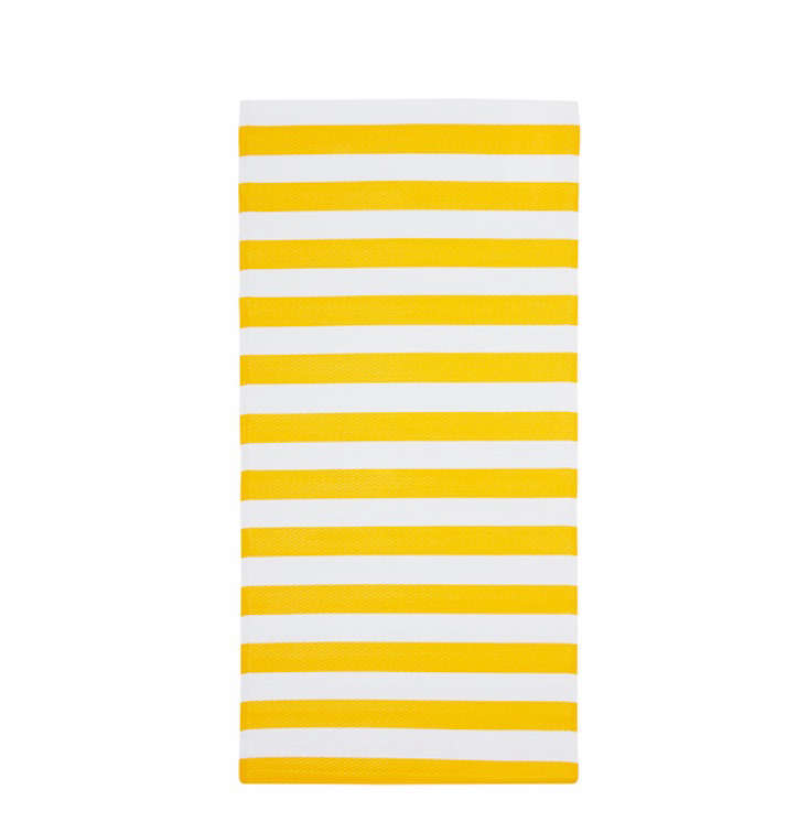 The SOMMAR striped runner measures  30 by 59 inches and is just $9.99.