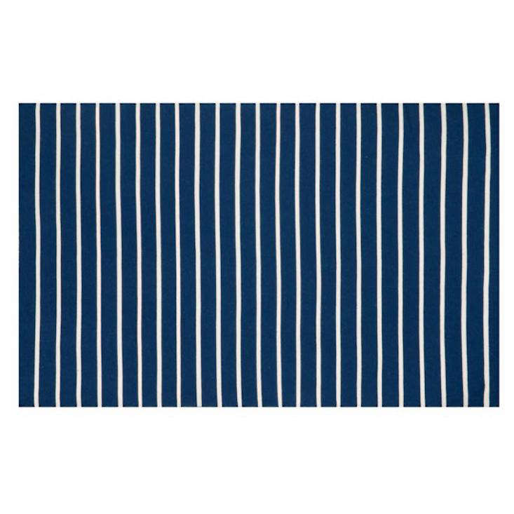 The Schooner Pinstripe Indoor Outdoor Rug is currently on sale from $ to $359 at Frontgate.
