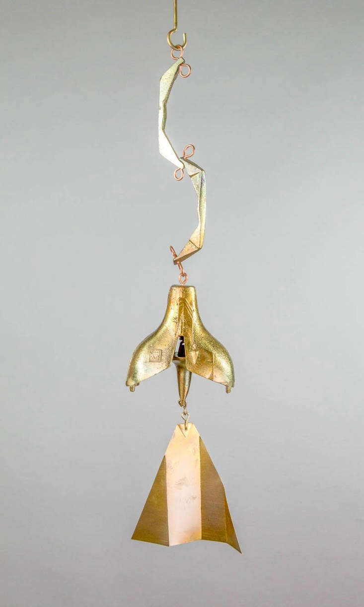 Cosanti Windbells by Paolo Soleri, #112 Burnished