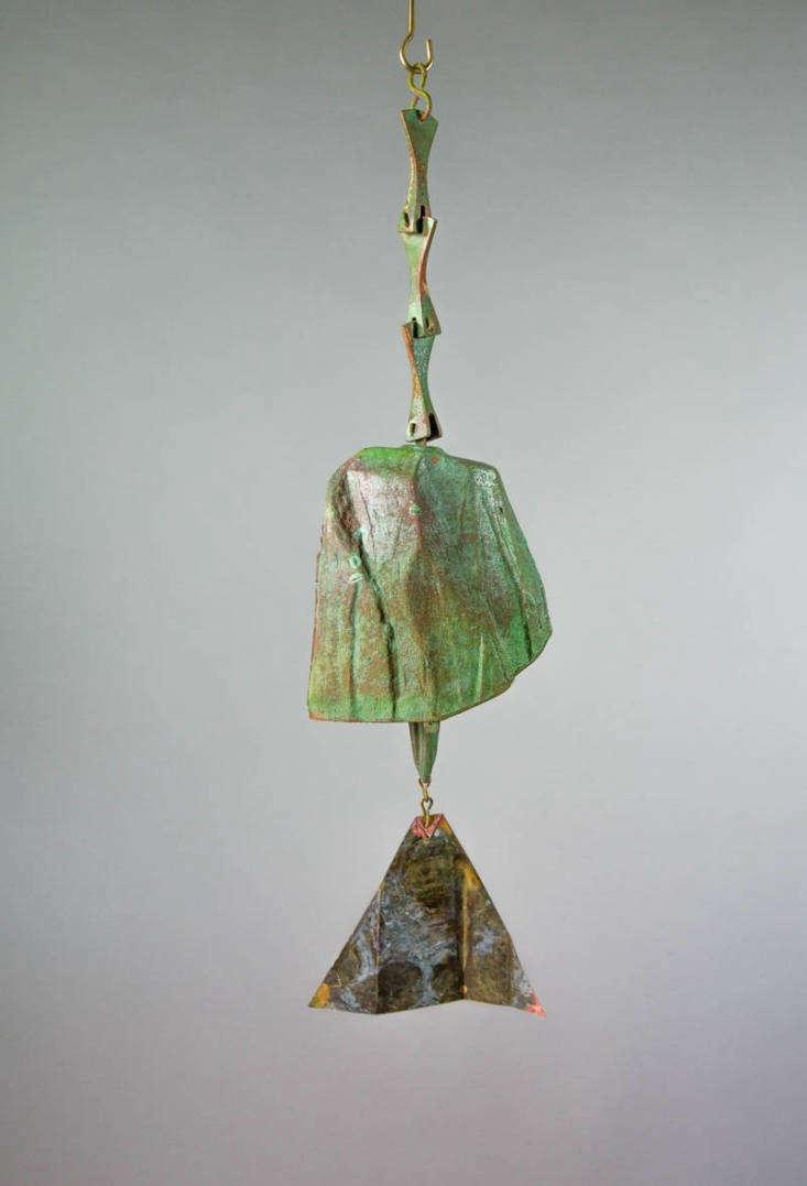 Cosanti Windbells by Paolo Soleri, #115 Patina