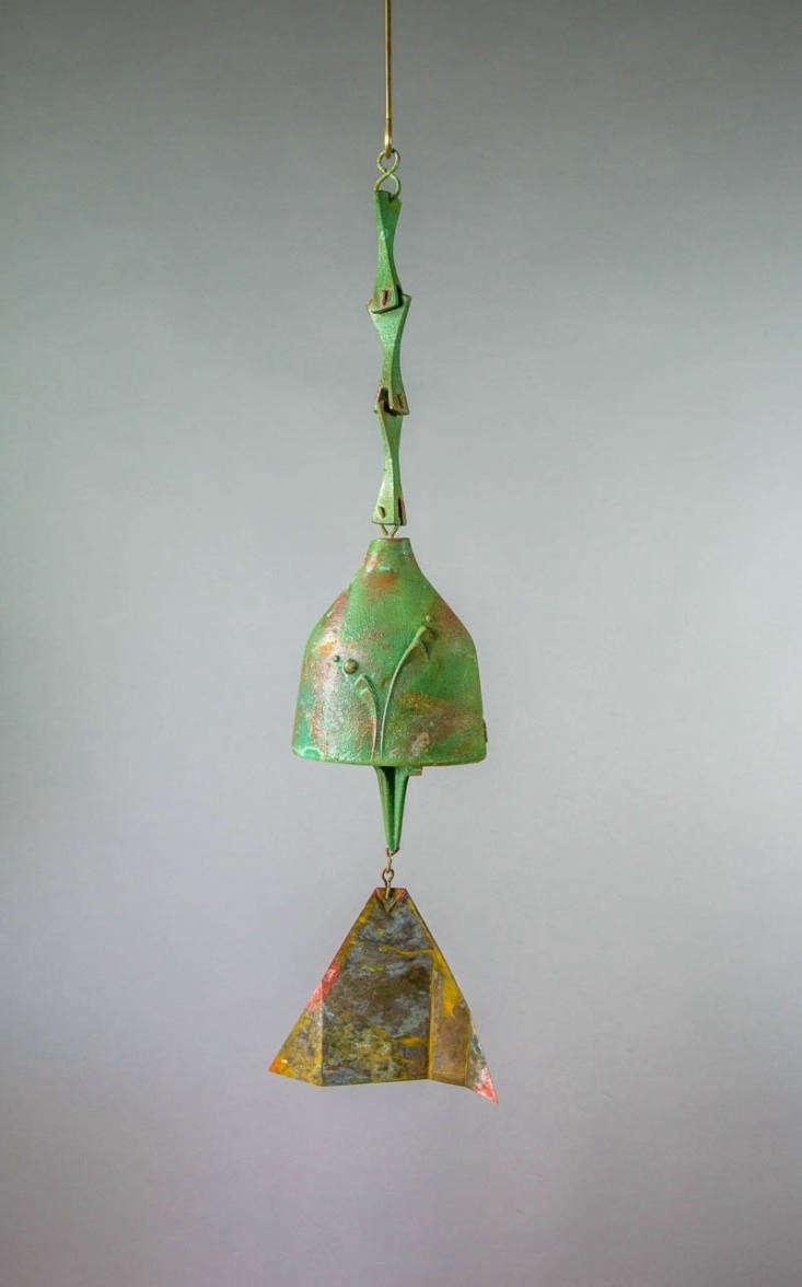 Cosanti Windbells by Paolo Soleri, #128 Patina