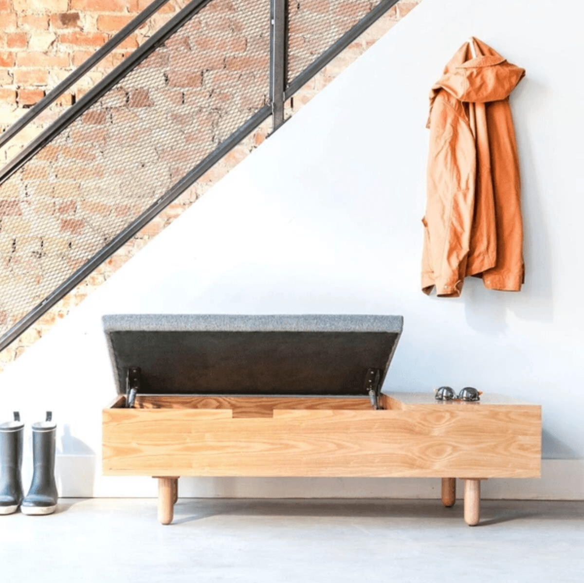 Alexa sourced some good-looking all-purpose storage benches for her latest  Easy Pieces column. (This one&#8