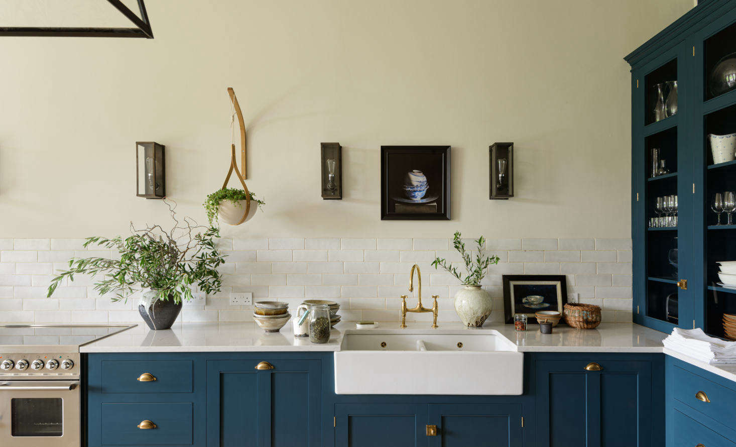 I first spied the Tom Raffield-designed planter while writing this story: Kitchen of the Week: An Imposing English Manor, Updated for Modern Family Life. Photograph courtesy of deVOL.