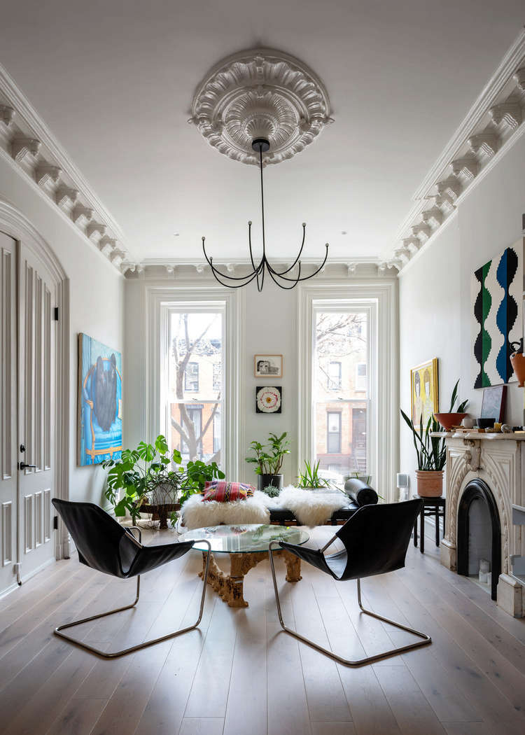 Photograph by Alan Tansey, courtesy of vonDALWIG Architecture, from Second Time's the Charm: 'A Renovation of a Renovation' in a Brooklyn Duplex.