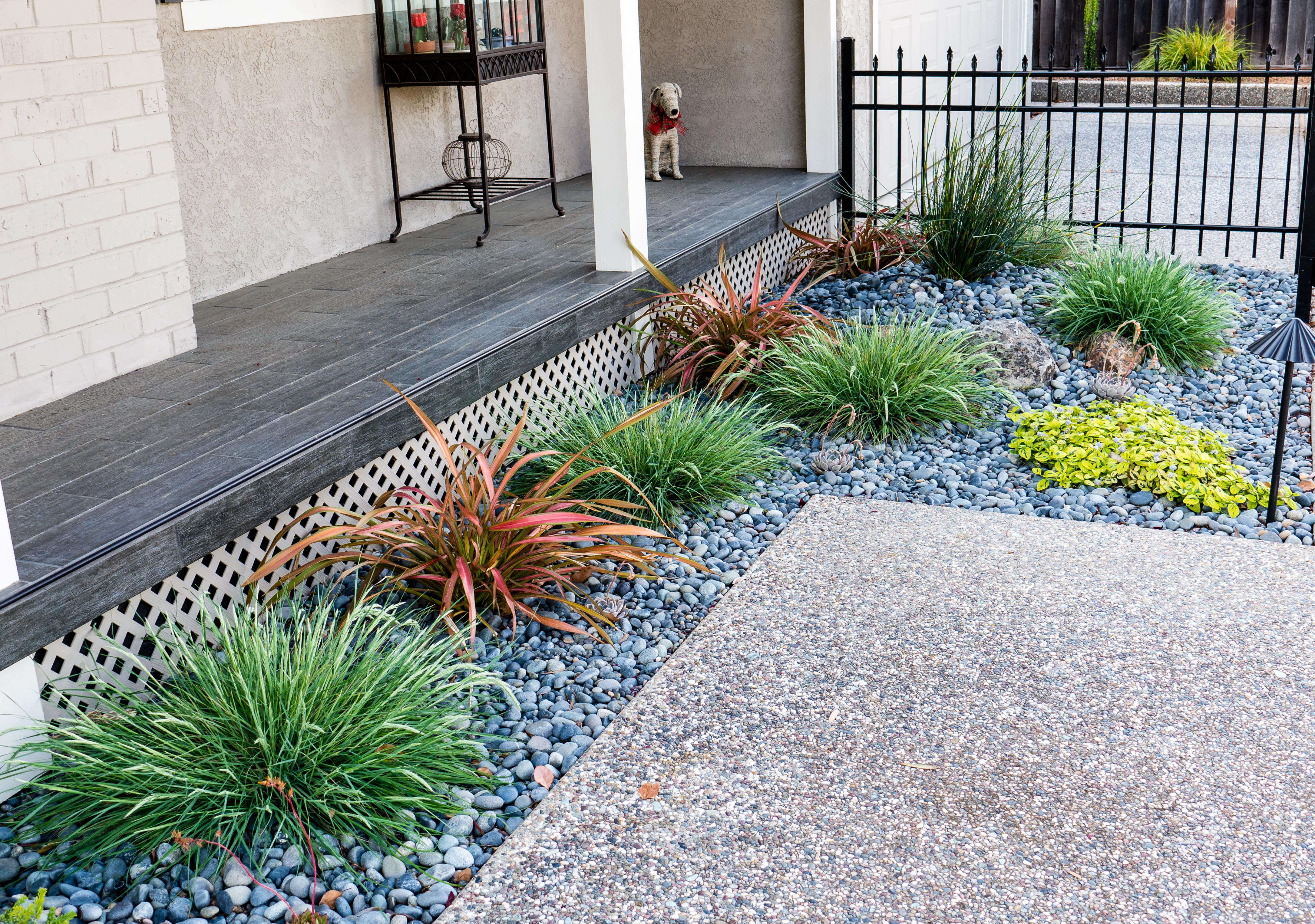 From Junipers to Colorful Front Yard - Gardenista