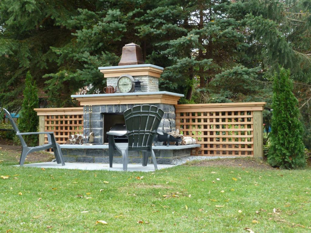 Backyard Fireplace And Garden Gardenista