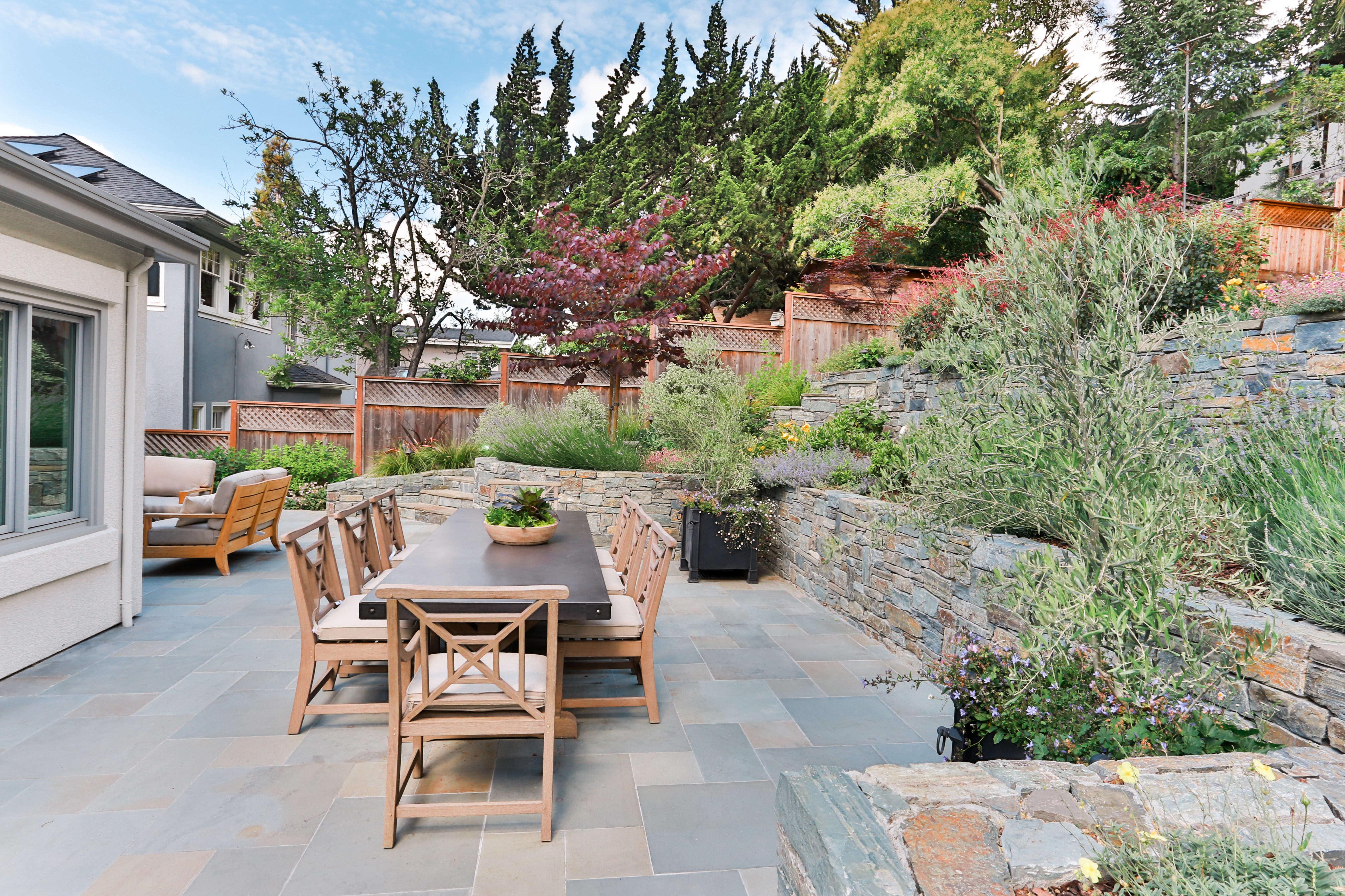 Terraced Oakland Garden - Gardenista on Terraced Backyard Garden id=83798