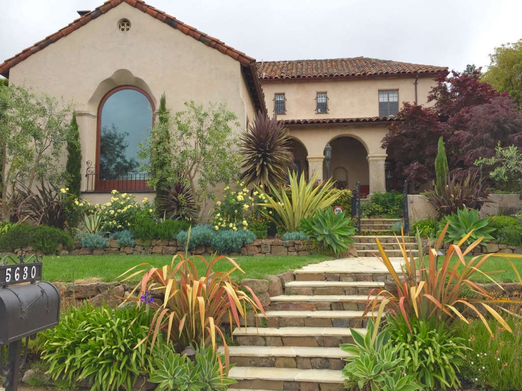 New Landscape For A 1929 Spanish Colonial Revival Home