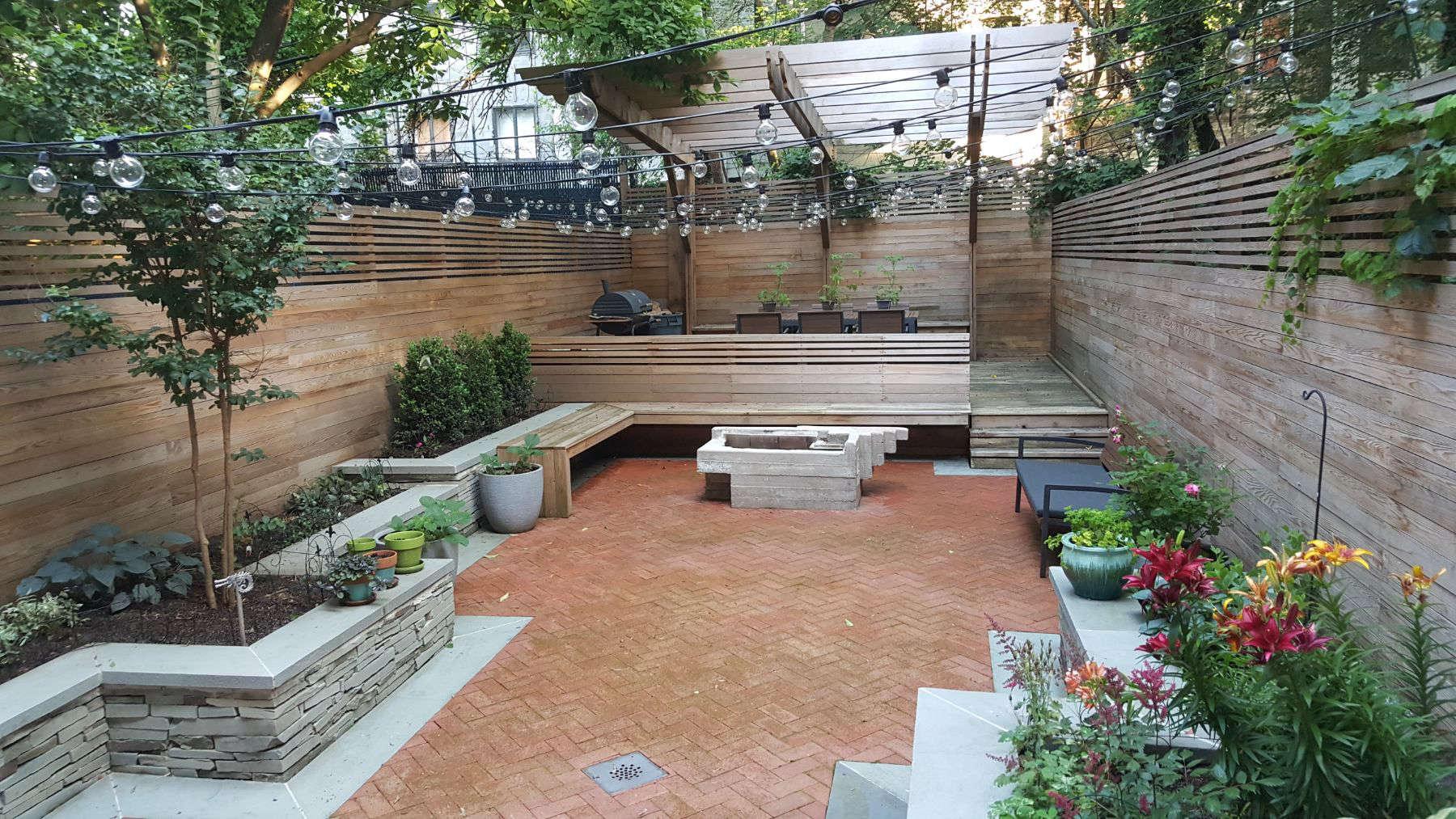 418 Quincy Street Backyard - Hardscape - Gardenista on Backyard Hardscape Design id=58585